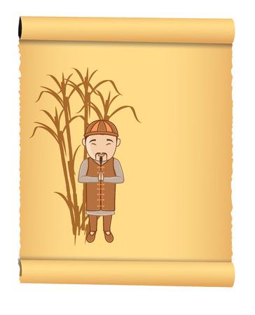 moksha: Kung-Fu Monk Parchment