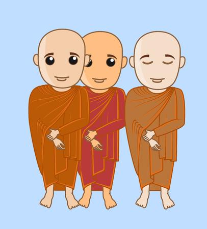 moksha: Monks Characters
