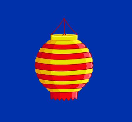China Lantern Illustration