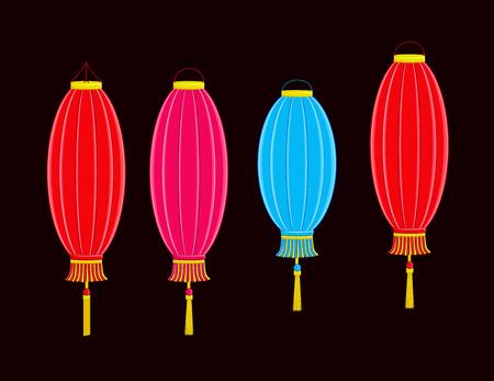 Carnival Hanging Lantern Set