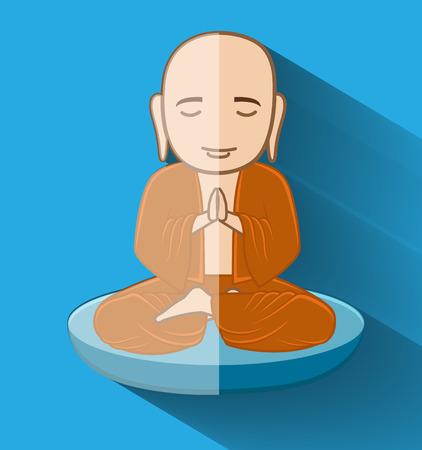 moksha: Buddhist Bhikkhu Monk