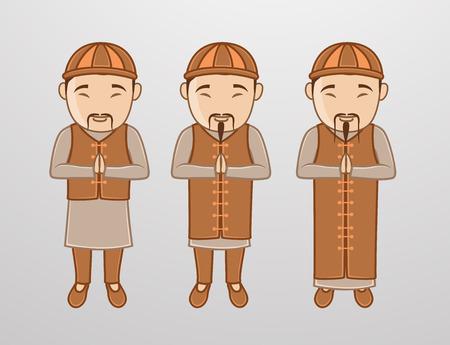monasteries: Kung-Fu Monk Characters
