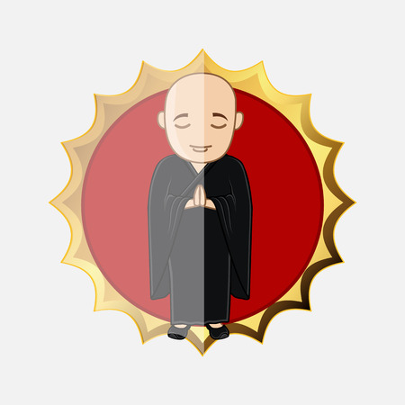 moksha: Japanese Kung-Fu Trainee Illustration