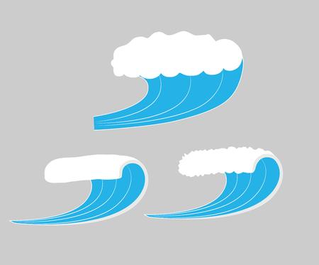 waves: Sea Waves Vector