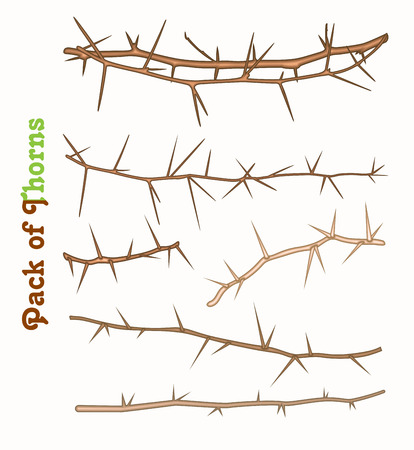 thorns: Pack of Thorns Vector