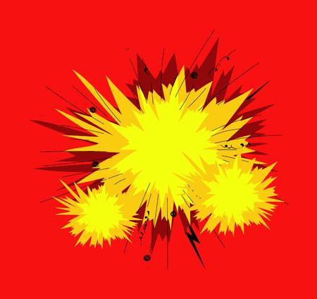 the big bang: Big Bang Burst Effect