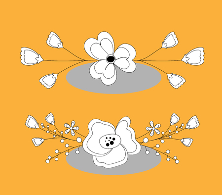separators: Flower Separators Clipart