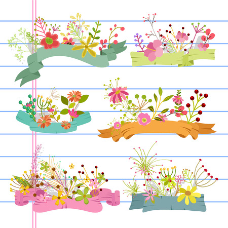 occasions: Greeting Floral Banners for Occasions