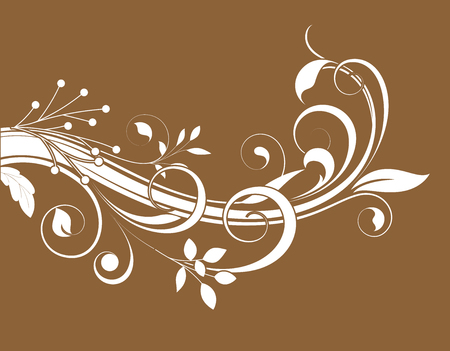swirl: Swirl Flourish Element Vector