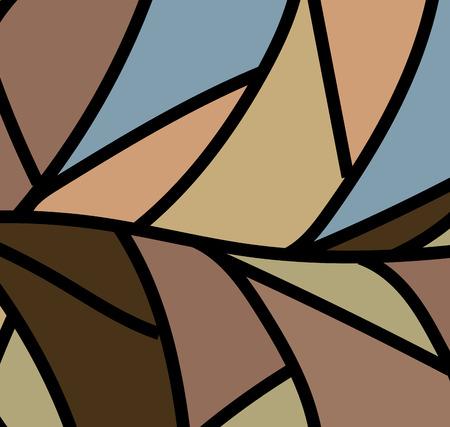 vintage background: Vintage Abstract Pattern Background Illustration