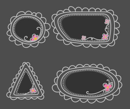 kiddies: Doodle Art Frames Set