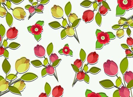twigs: Flowers Twigs Background