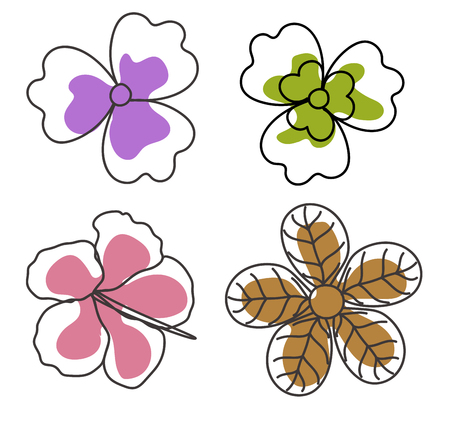 Drawing Art of Flowers