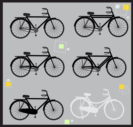 ciclos: Indian Cycles Shapes and Silhouettes