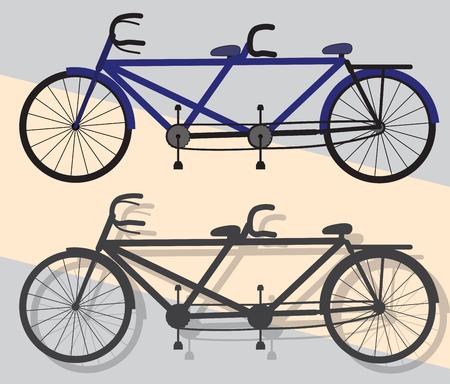 ciclos: Ciclos tándem del vector
