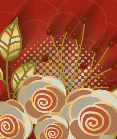 macro flowers: Macro Flowers Abstract Background