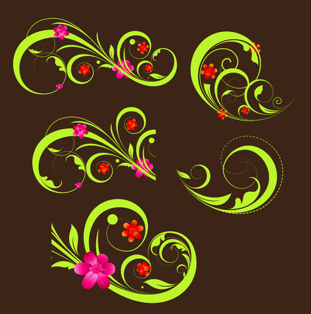 swirl: Swirl Flourish Elements