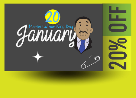 martin luther king: Martin Luther King Day Discount Coupon