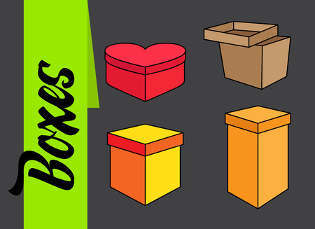 occasions: Several Gift Boxes for Occasions