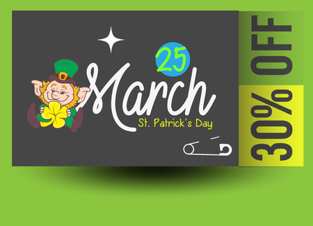 patricks day: St. Patrick's Day Discount Coupon
