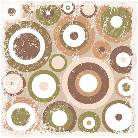 circles pattern: Rugged Circles Pattern Background