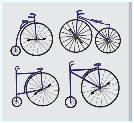 cycles: Fancy Circus Cycles Designs Illustration