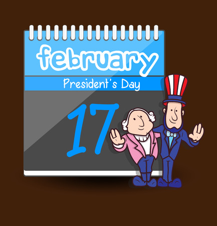 george washington: President's Day - Cartoon Characters Vectors