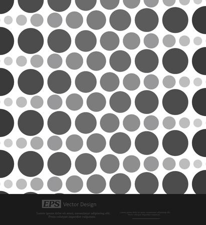 circles: Abstract Vintage Circles Background Illustration
