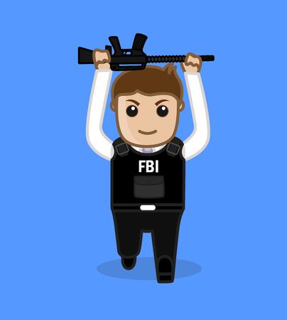 FBI Training for Fitness Illustration