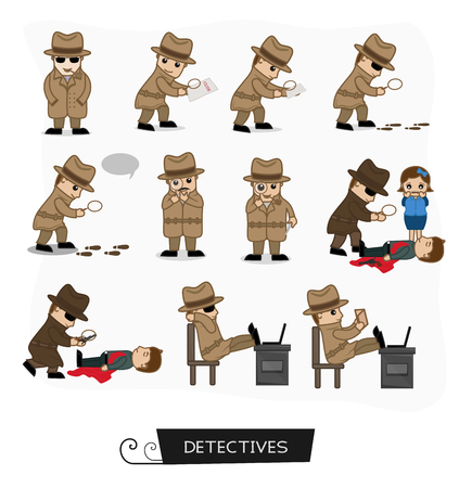 Detective Agents Various Concepts in a Set