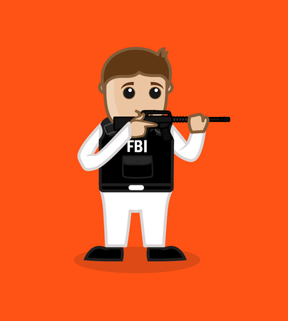 fbi: FBI Agent Learning Shooting During Training