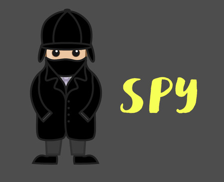 ci: Spy Character with Mask