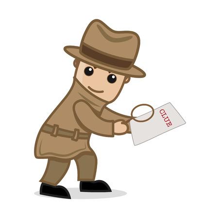 Detective Agent Got a Clue