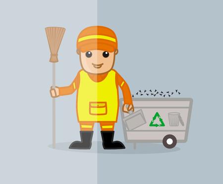 sweeper: Street Sweeper Character