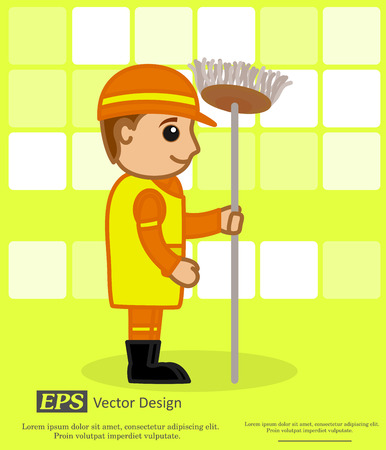 sweeper: Cartoon Sweeper