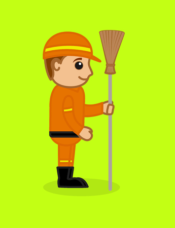 sweeper: Happy Cartoon Sweeper