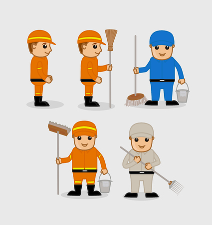 sweeper: A Cartoon Sweeper Characters