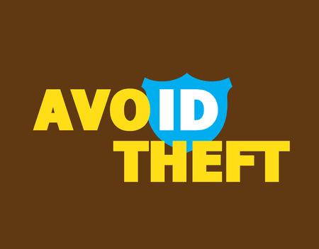avoid: Avoid ID Theft Message