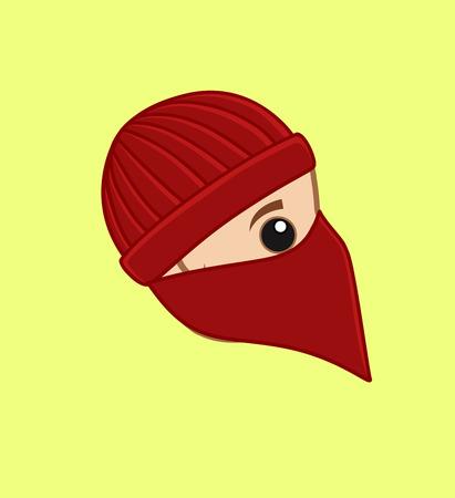 thug: Balaclava Thief Face