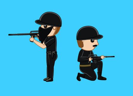commando: Commando with Guns