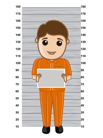 inmate: Criminal Holding a Slate