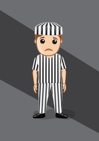 prisoner: Sad Prisoner in Prisoner Dress