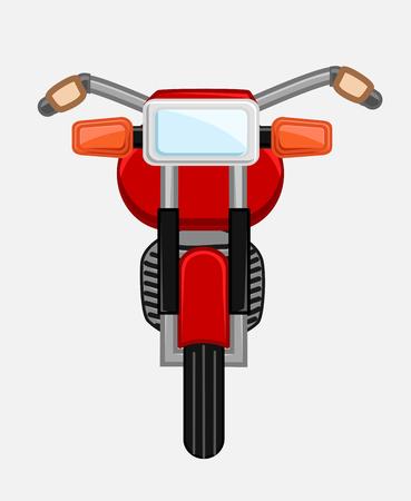 bicicleta vector: Bicicleta clásica de diseño vectorial