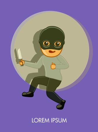 felonious: Thief Caught in a Spotlight