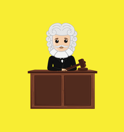 courtroom: Judge in Courtroom