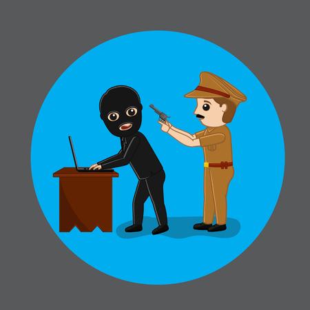 Police Arrested a Data Hacker