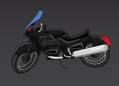 bicicleta vector: Vector negro Deportes de la bici