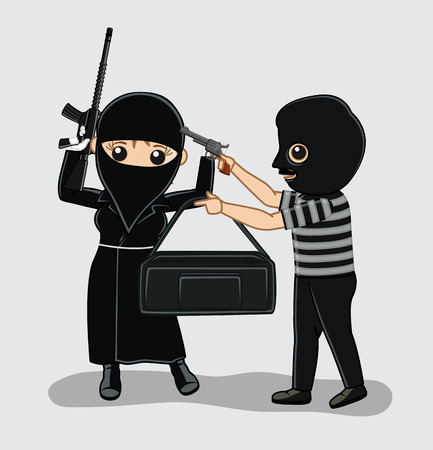 A Robber Robbing Another Robber