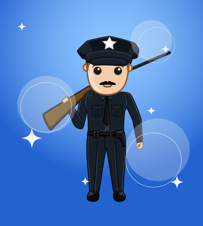 Gunman with Rifle