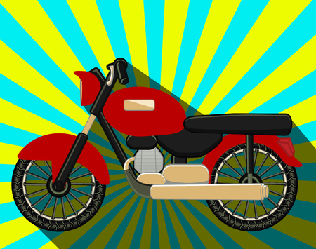 old fashioned: Old Fashioned Motorbikes